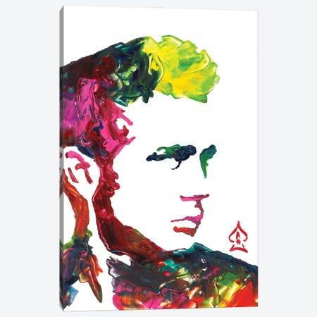 James Dean Canvas Print #HRR46} by Andrew Harr Canvas Art Print