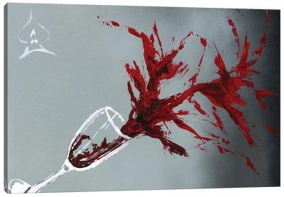 Spilled Glass Canvas Art Print