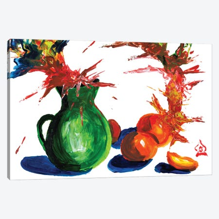 Abstract Still Life Canvas Print #HRR49} by Andrew Harr Canvas Artwork