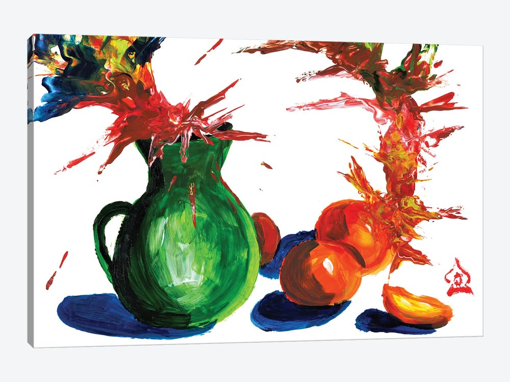 Abstract Still Life by Andrew Harr 1-piece Canvas Print