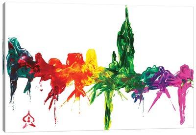 New York City Abstract Canvas Art Print