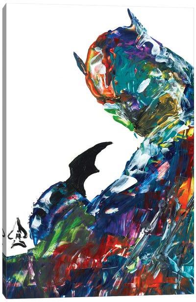 Batman Abstract II Canvas Art Print