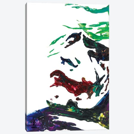 Joker Abstract III Canvas Print #HRR55} by Andrew Harr Canvas Wall Art