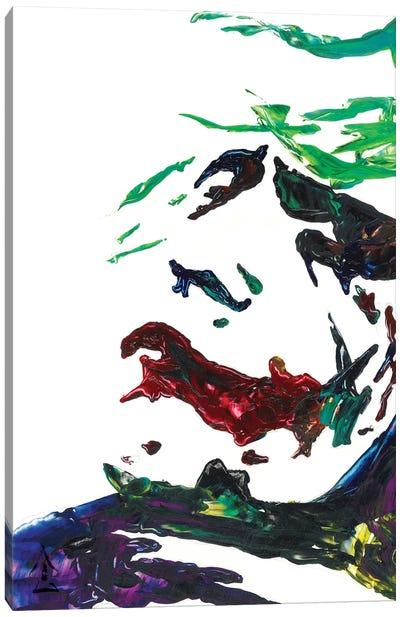 Joker Abstract III Canvas Art Print