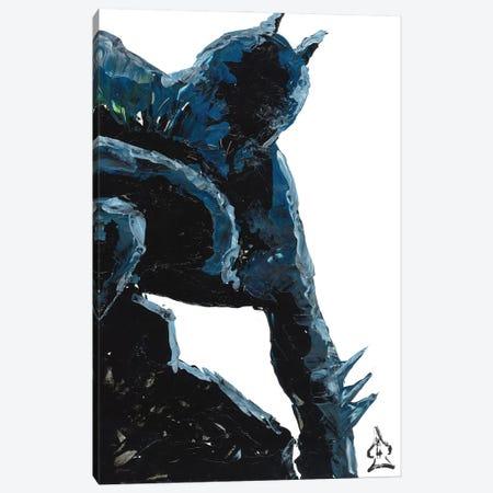 Batman Abstract III Canvas Print #HRR59} by Andrew Harr Canvas Art Print