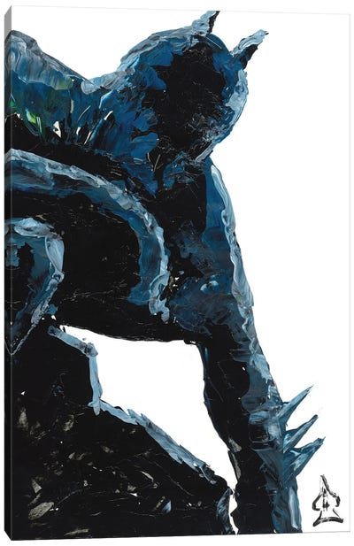 Batman Abstract III Canvas Art Print
