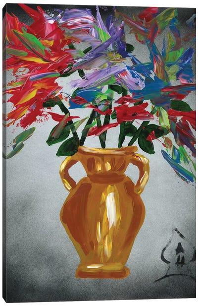 Vase Explosion Canvas Art Print