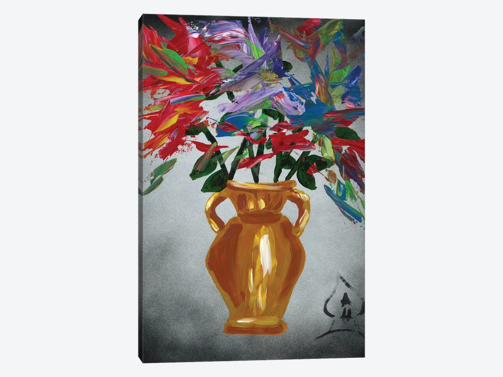 Vase Explosion by Andrew Harr 1-piece Canvas Art