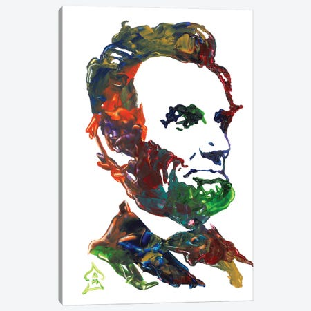 Lincoln I Canvas Print #HRR9} by Andrew Harr Art Print