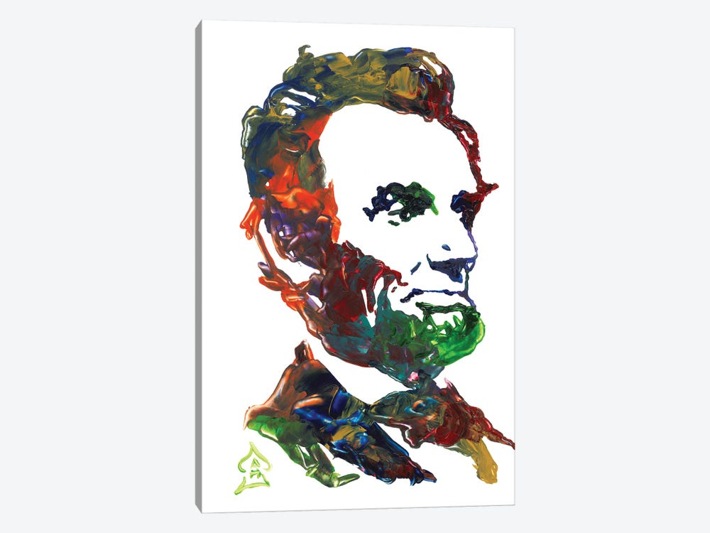 Lincoln I by Andrew Harr 1-piece Canvas Art Print