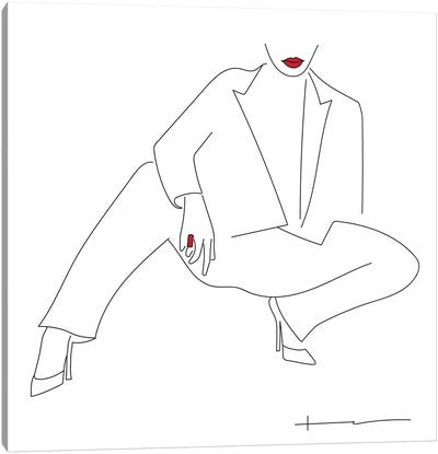 Comfort Is Optional. Fashion Is Not. Canvas Art Print