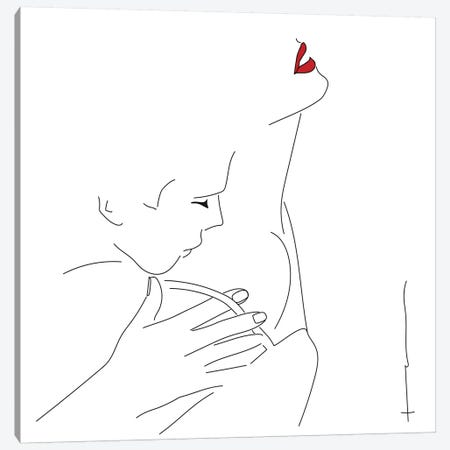 Feels Like Valentines. Canvas Print #HRS16} by Antonia Harris Art Print
