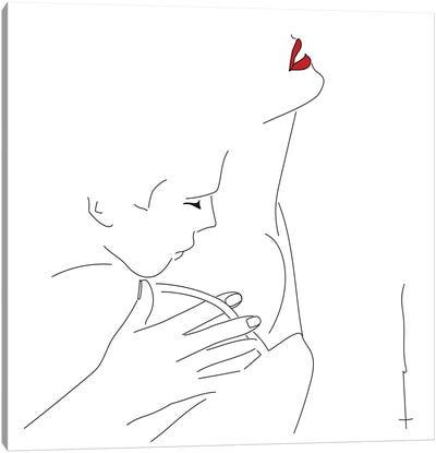 Feels Like Valentines. Canvas Art Print