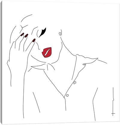 Headache. Canvas Art Print