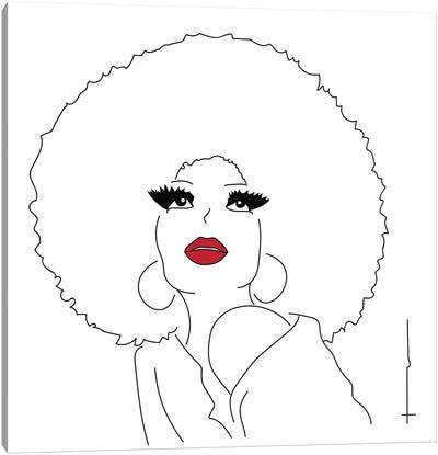 I Am The Disco Ball. Canvas Art Print