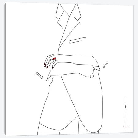I Need It, Like, Yesterday. Canvas Print #HRS20} by Antonia Harris Art Print