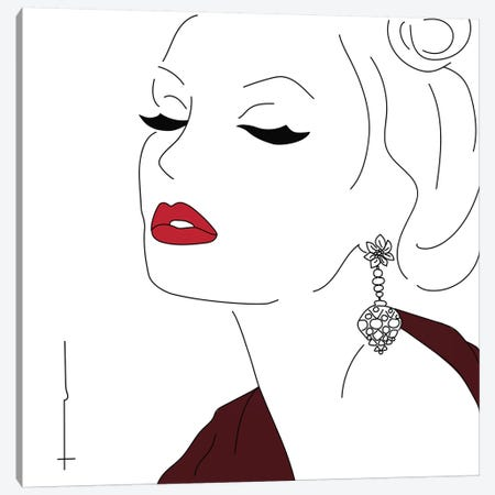 Is That, Polyester? Canvas Print #HRS24} by Antonia Harris Canvas Art
