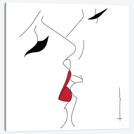 This Is Nice & All, But… Canvas Print #HRS39} by Antonia Harris Canvas Artwork