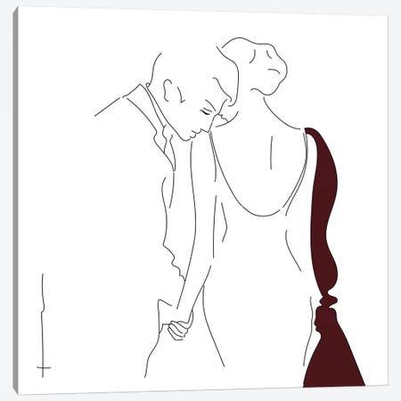 Walk Me Home? Canvas Print #HRS42} by Antonia Harris Canvas Print