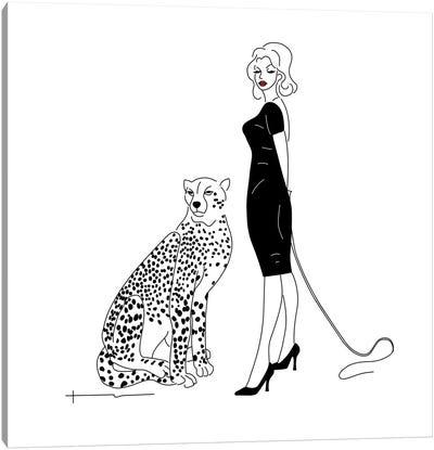 You Said I Could Get A Cat. Canvas Art Print