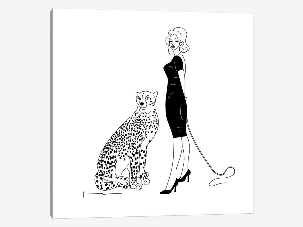 You Said I Could Get A Cat. by Antonia Harris 1-piece Canvas Art