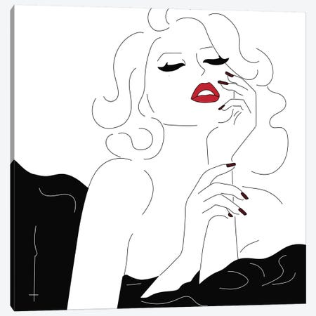 Amuse Me. 3-Piece Canvas #HRS5} by Antonia Harris Art Print