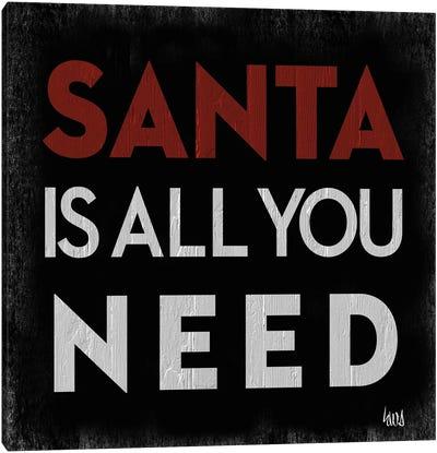 Santa Cheer I Canvas Art Print