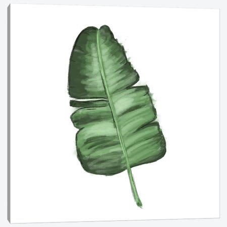 Leaves of the Tropics I Canvas Print #HRW26} by hartworks Canvas Wall Art