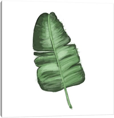 Leaves of the Tropics I Canvas Art Print