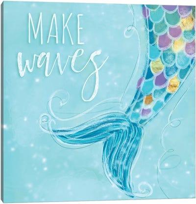Make Waves I Canvas Art Print