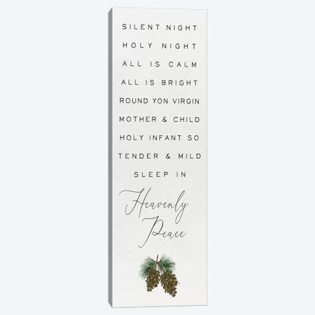 Cozy Christmas Panel III Canvas Print #HRW48} by hartworks Canvas Print