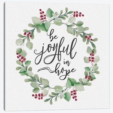 Cozy Christmas Wreath III Canvas Print #HRW51} by hartworks Canvas Wall Art