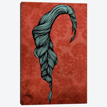 Fishtail  Canvas Print #HSC16} by 5by5collective Canvas Artwork