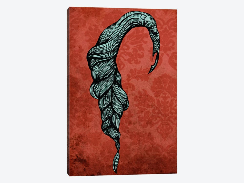 Fishtail by 5by5collective 1-piece Canvas Art Print