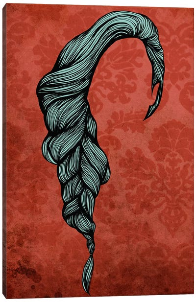 Fishtail  Canvas Art Print