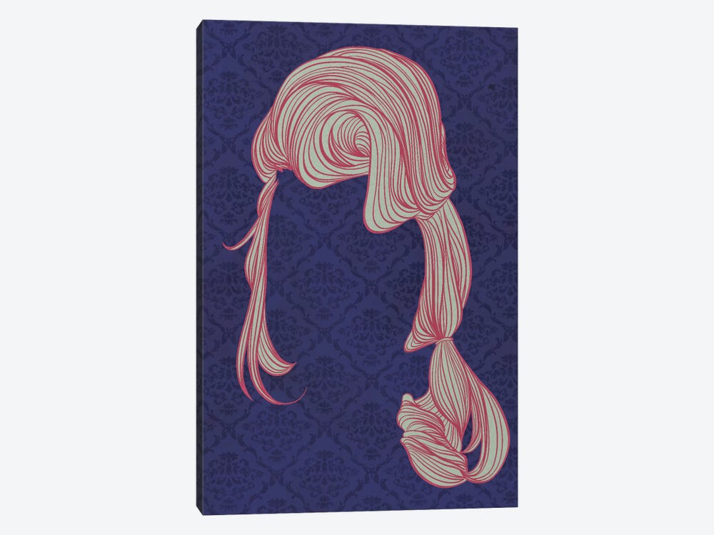 Bouffant #1 by 5by5collective 1-piece Canvas Wall Art