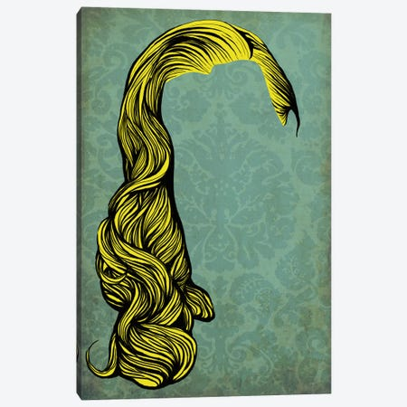 Big Hair Canvas Print #HSC18} by 5by5collective Art Print