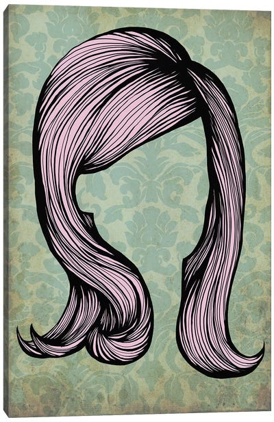 Bouffant #2 Canvas Art Print