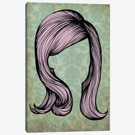 Bouffant #2  Canvas Print #HSC19} by 5by5collective Art Print