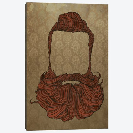 Fullbeard  Canvas Print #HSC1} by 5by5collective Canvas Art