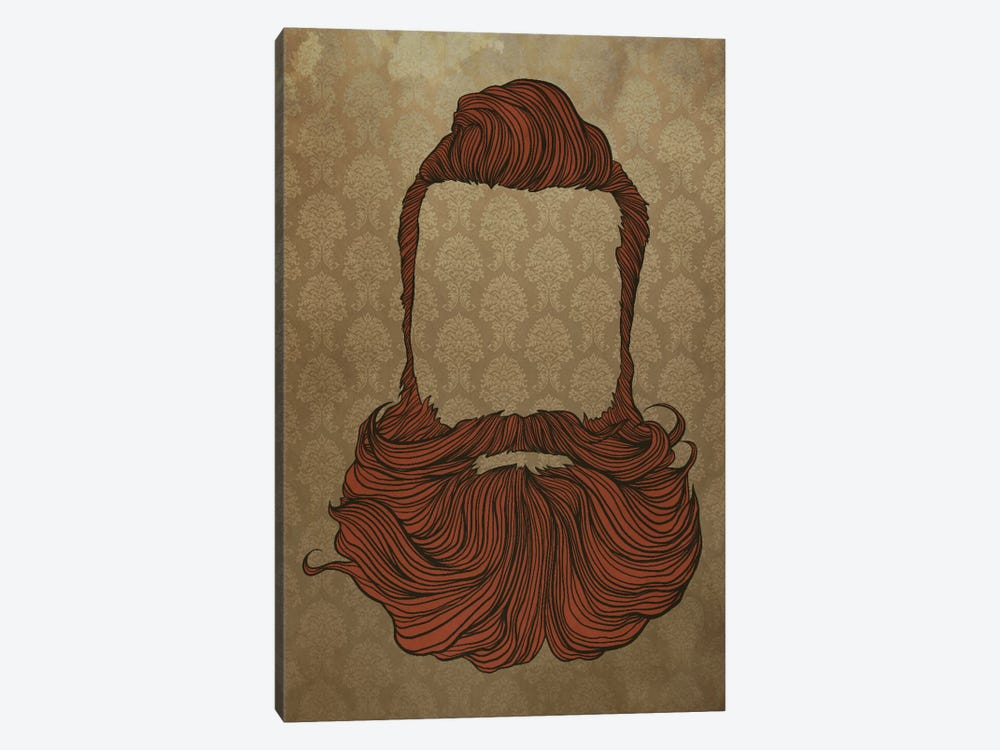 Fullbeard  by 5by5collective 1-piece Canvas Print