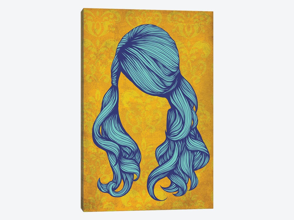 Pouf #1  by 5by5collective 1-piece Canvas Art