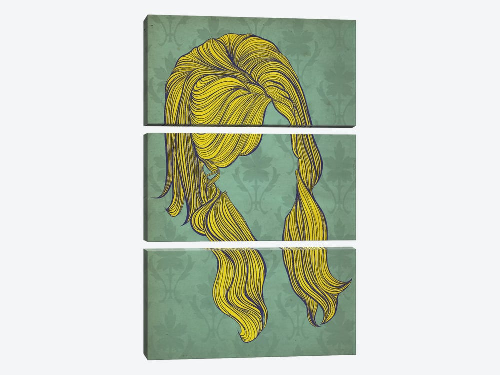 Beehive  by 5by5collective 3-piece Canvas Wall Art