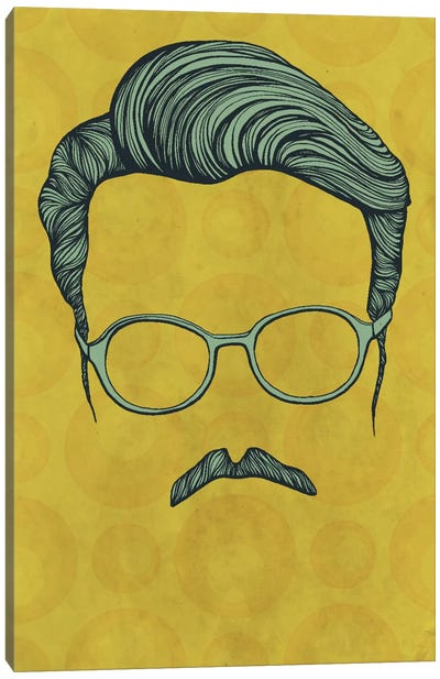 Moustache Canvas Art Print