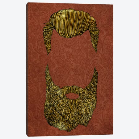 Pompadour  Canvas Print #HSC7} by 5by5collective Art Print