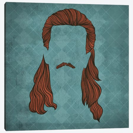 Mullet  Canvas Print #HSC8} by 5by5collective Canvas Artwork