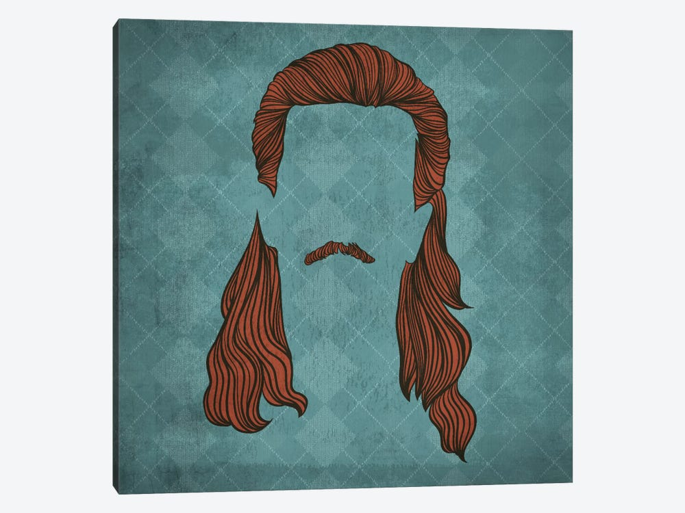 Mullet by 5by5collective 1-piece Canvas Wall Art