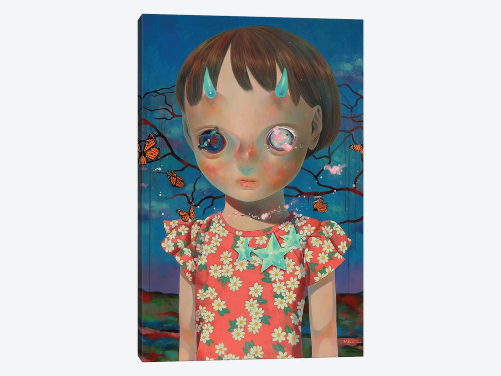 Whereabouts Of God Series: Nobody #2 by Hikari Shimoda 1-piece Canvas Print