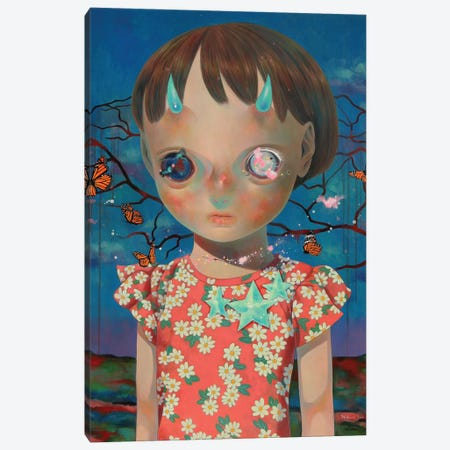 Whereabouts Of God Series: Nobody #2 3-Piece Canvas #HSH13} by Hikari Shimoda Canvas Artwork