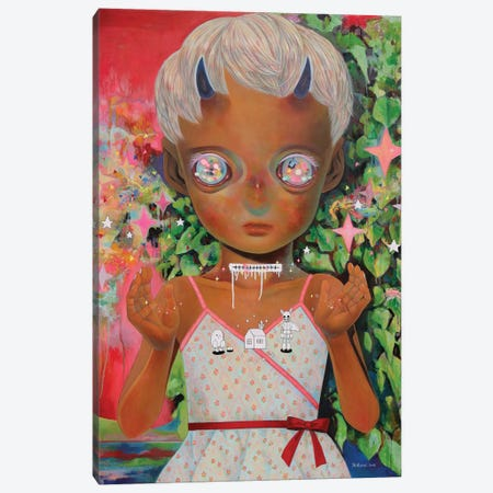 Whereabouts Of God Series: Nobody #3 Canvas Print #HSH14} by Hikari Shimoda Canvas Art Print